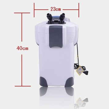 sunsun hw-302 18w canister external filter, 300-500 liters tank aquarium filter