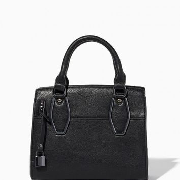 Elena Mini Lock Satchel | Charming Charlie