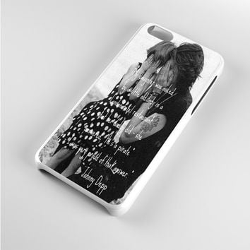 Johnny Depp qoute iPhone 5c Case