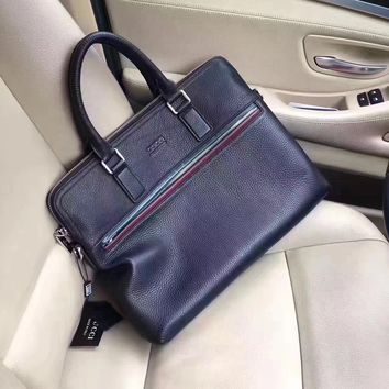 GUCCI MEN NEW STYLE LEATHER BRIEFCASE BAG