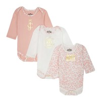 Baby 3Pc Regent Leopard Playsuit Gift Set by Juicy Couture