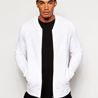 ASOS Bomber Jacket In Jersey
