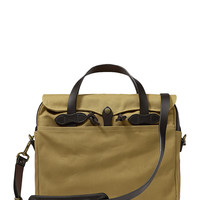 Filson Original Briefcase - Cream/Tan
