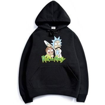 Rick And Morty Stretch Eyes Hoodie Sweatshirt