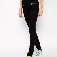Noisy May Super Slim Biker Jeans
