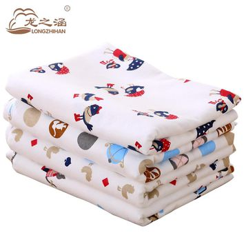 Baby Sheets Cotton 110*160cm Soft Newborn Baby Bed Sheet Sets Cartoon Bedding Mattress Cover Infant Cot Crib Sheet Boys girls