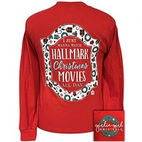 Girlie Girl Originals Preppy Hallmark Christmas Movies Long Sleeve T-Shirt
