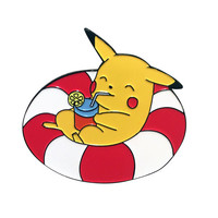 Pool Party Pikachu soft enamel pin - Pokemon