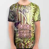 A Strict Code for Mourning Flowers (2) All Over Print Shirt by Wayne Edson Bryan