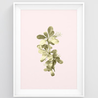 Botanical print, Living room wall art, Nature decor, Plant art print, Botanical poster, Plant wall art PRINTABLE, Wall art print, Zen decor