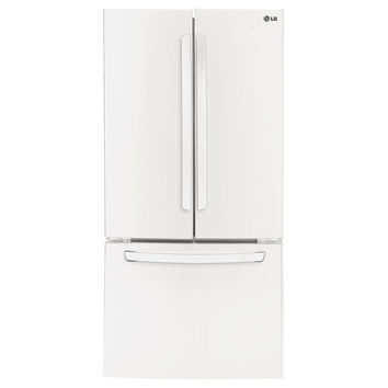 LG LFC24770SW: 24 cu. ft. French Door Refrigerator in Smooth White