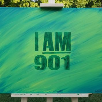 """""""I AM 901"""" in Greens"""