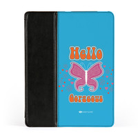 Sassy - Hello Gorgeous #10433 PU Leather Case for iPad 2/3/4 by Sassy Slang