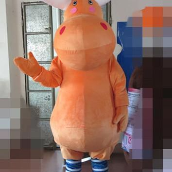 High quality Christmas deer mascot costumes elk costumes high quality plush Holiday special clothing