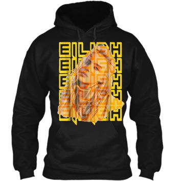 Fun Billie Lover Eilish Music  Pullover Hoodie 8 oz