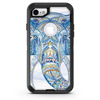 Geometric Sacred Elephant - iPhone 7 or 8 OtterBox Case & Skin Kits