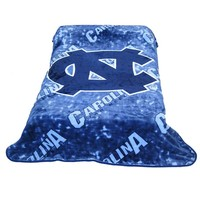 College Covers North Carolina Tar Heels Raschel Throw Blanket (Unc Team)