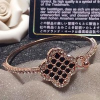 Cartier four-leaf grass bracelet women rose gold fashion jewelry lucky bracelet bracelet bracelet women bracelet jewelry