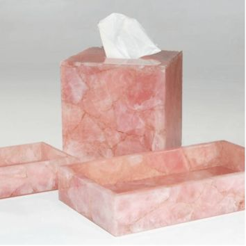 Taj Rose Quartz Bath Collection by Mike + Ally