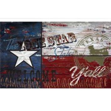 Apache Mills, Texas Flag 18 in. x 30 in. Recycled Rubber Door Mat, 60-730-1611-01800030 at The Home Depot - Mobile
