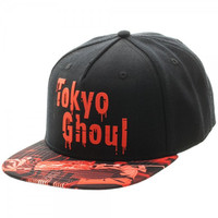 Tokyo Ghoul - Sublimated Bill Snapback