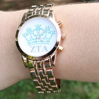 Greek Watch with Sorority Letters and Symbol