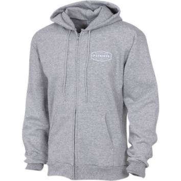 The Ultimate Fan Of The New England Patriots Embroidered Zip Up Hooded Sweatshirt