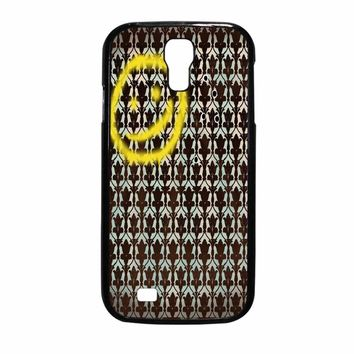 Smiley Sherlock Holmes In Wallpaper Samsung Galaxy S4 Case