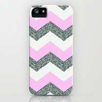 Diamonds are a Girl's Best Friend iPhone & iPod Case by Pink Berry Pattern