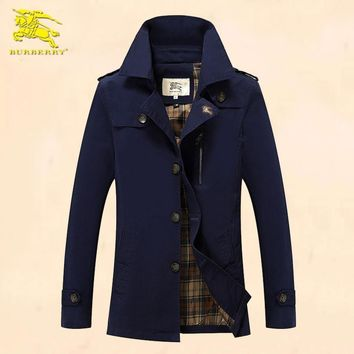 Burberry Cardigan Jacket Coat-26