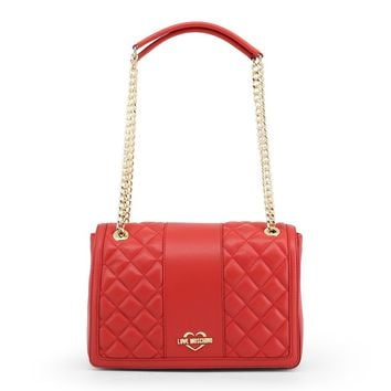 Love Moschino Red Shoulder Bag