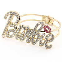 Kiss my Barbie Bracelet from Kiss Kiss Darling Boutique