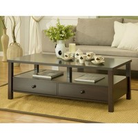 Cottage 2-drawer Coffee Table | Overstock.com