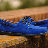 Ronnie Fieg X Sebago Almani - Blue | 7 Shoes | Ronnie Fieg x Sebago