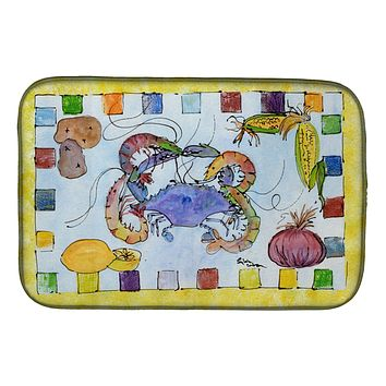 Crab Dish Drying Mat 8068DDM