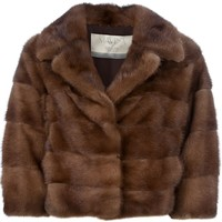 Mavina mink fur coat
