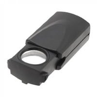 uxcell 30X Foldaway Eye Loupe Gemstone Jewelry Magnifier with LED Light