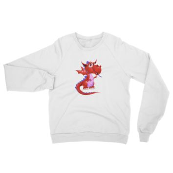 Draco Red Raglan sweater