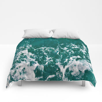 Emerald Waters Comforters by ARTbyJWP
