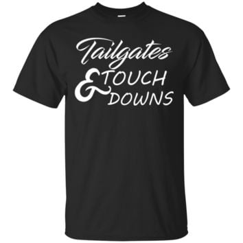Tailgates & Touchdowns Tshirt Football Party Tee