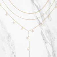 Catching Stars Layered Necklace