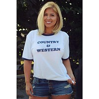 Country and Western Vintage Rodeo Tee