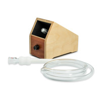 Classic Hands-Free Box Vaporizer by Vapor Brothers - Natural or Coffee