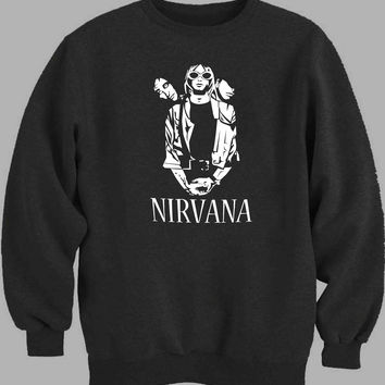 Nirvana cartoon Sweater for Mens Sweater and Womens Sweater *