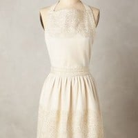 Adelia Apron by Anthropologie in Gold Size: One Size Aprons