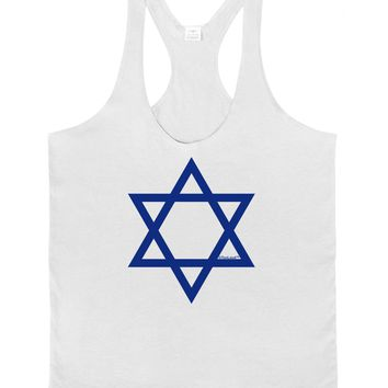 Jewish Star of David Mens String Tank Top by TooLoud