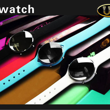Free DHL Uu Smart Watch Handsfree Bluetooth Smartwatch Wristwatch Sync Android for iPhone Samsung Galaxy S5 Note HTC LG Sony