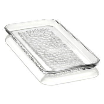 'Pearl' Rectangular Lead Crystal Platter
