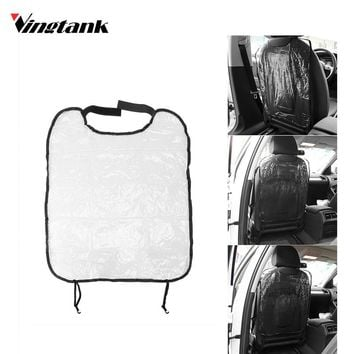 Car Seat Auto Back Protector Clear Cover CaseWaterproof Car Seat Back Cover for Kids Kick Mat Infant 18*24""