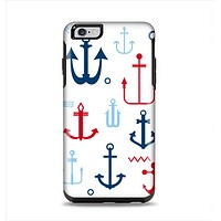 The Various Anchor Colored Icons Apple iPhone 6 Plus Otterbox Symmetry Case Skin Set